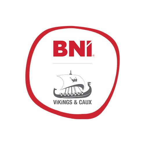Logo BNI VIKING AND CAUX