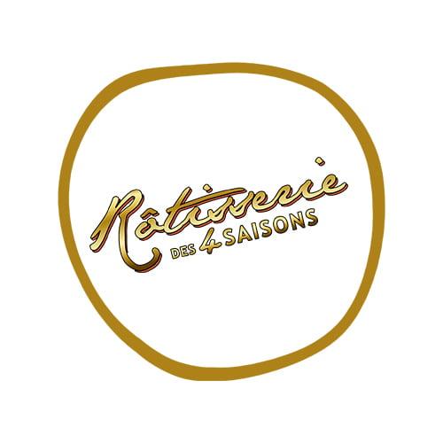 Logo Rotisserie des 4 saisons